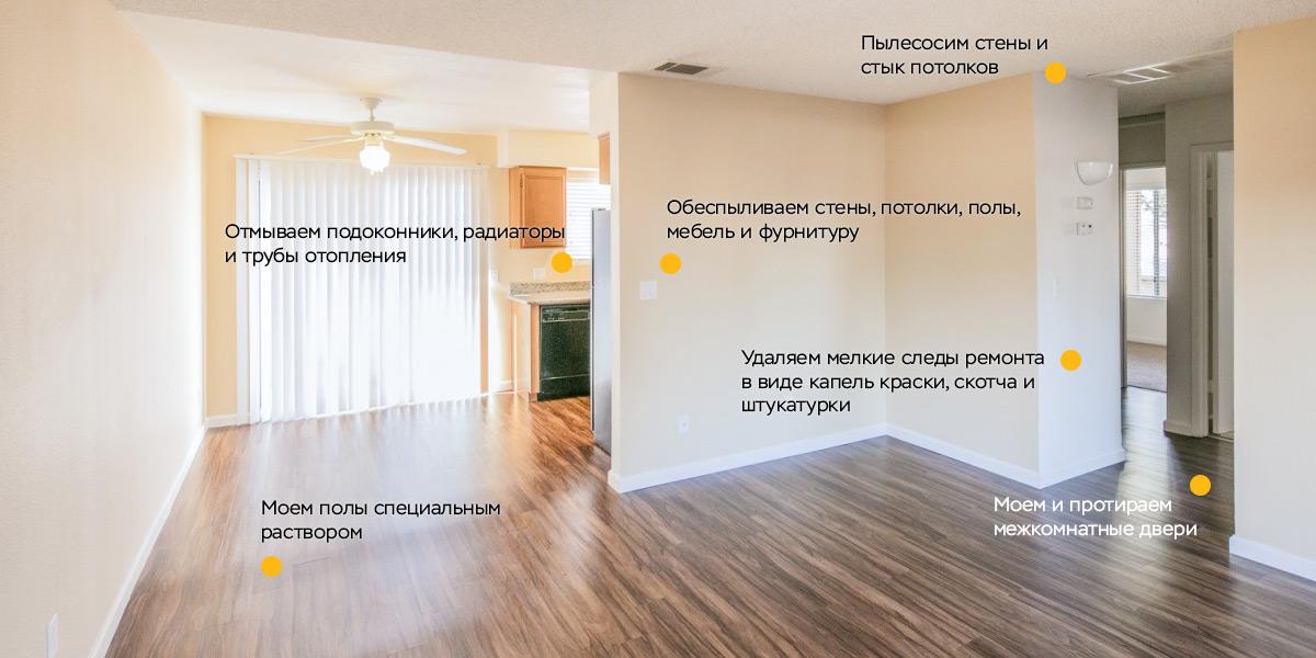 Комнаты и коридор