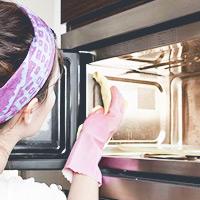 Внешняя и внутренняя чистка микроволновки